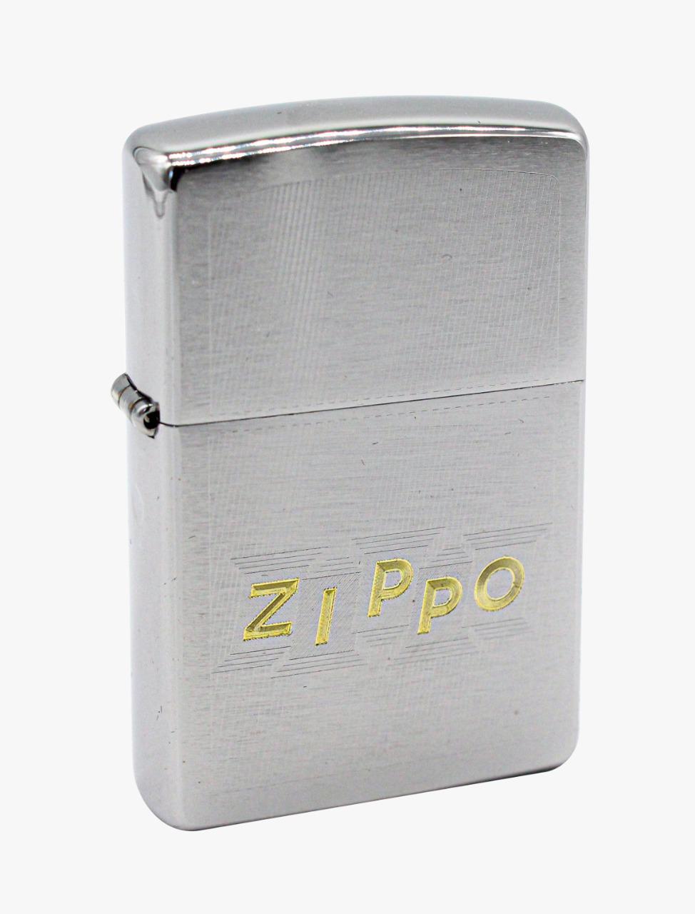 Isqueiro Zippo Block Letters Design