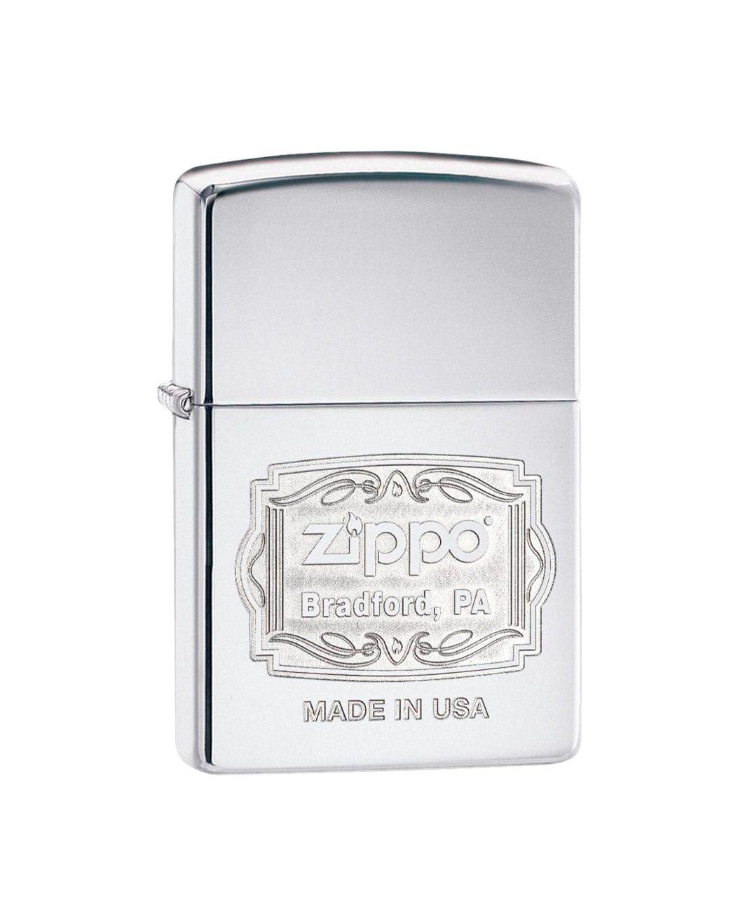 Isqueiro Zippo Bradford High Polish