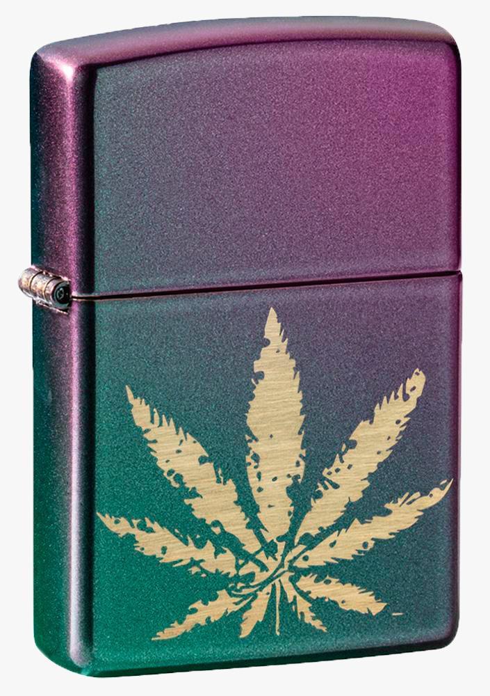 Isqueiro Zippo Cannabis Design