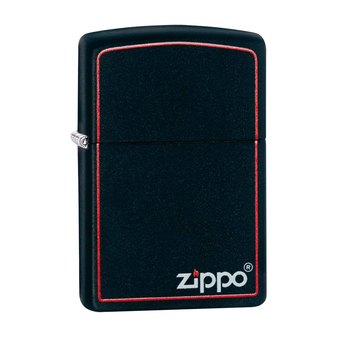 ISQUEIRO ZIPPO CLASSIC BLACK AND RED