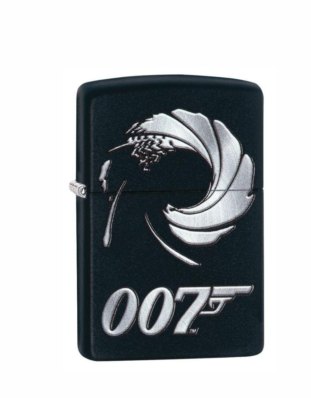 Isqueiro Zippo Classic James Bond Black