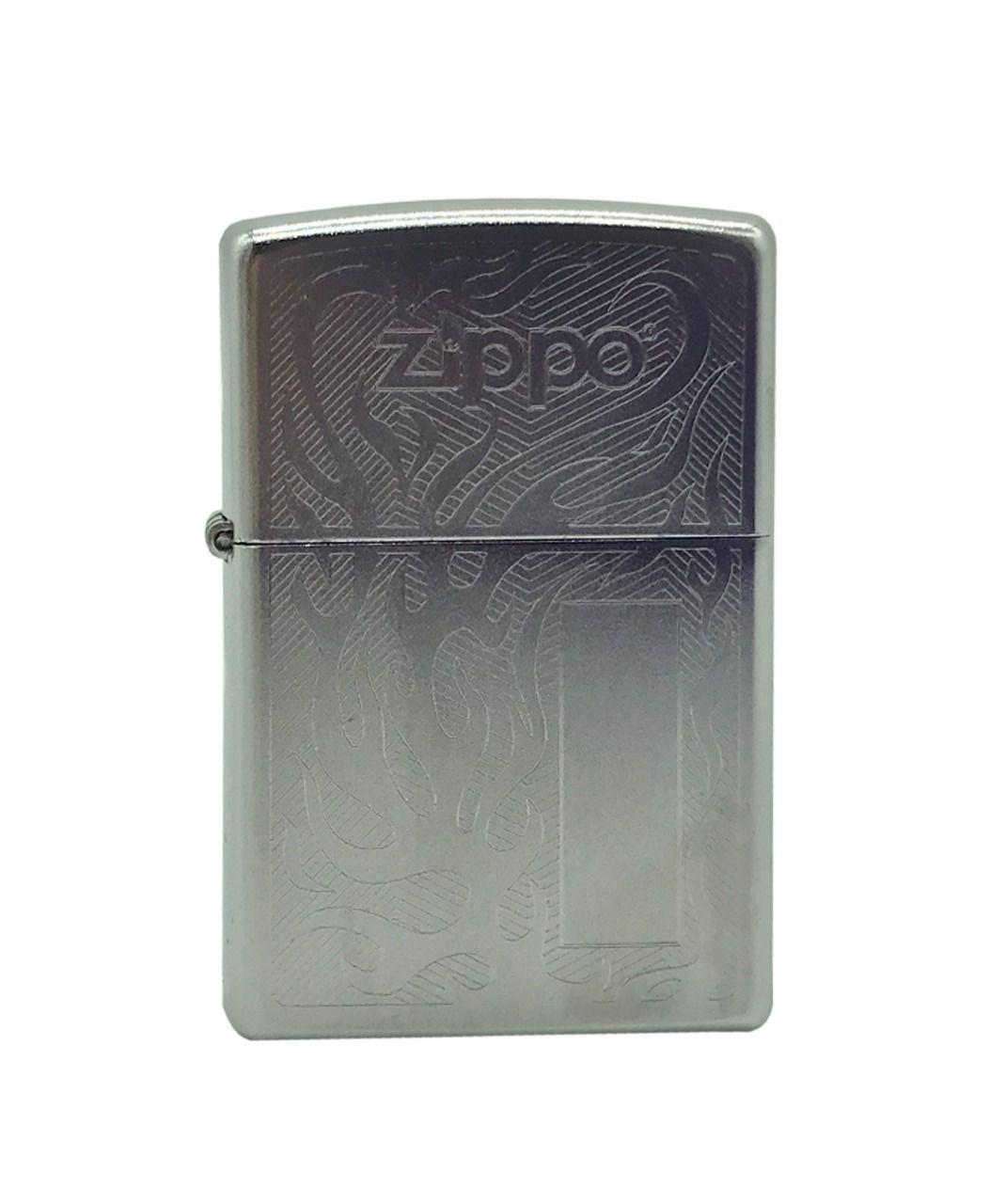 Isqueiro Zippo Flame Chrome
