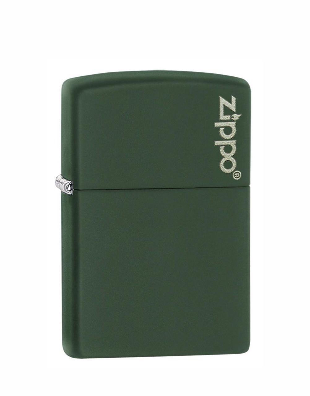 Isqueiro Zippo Green Matte Logo