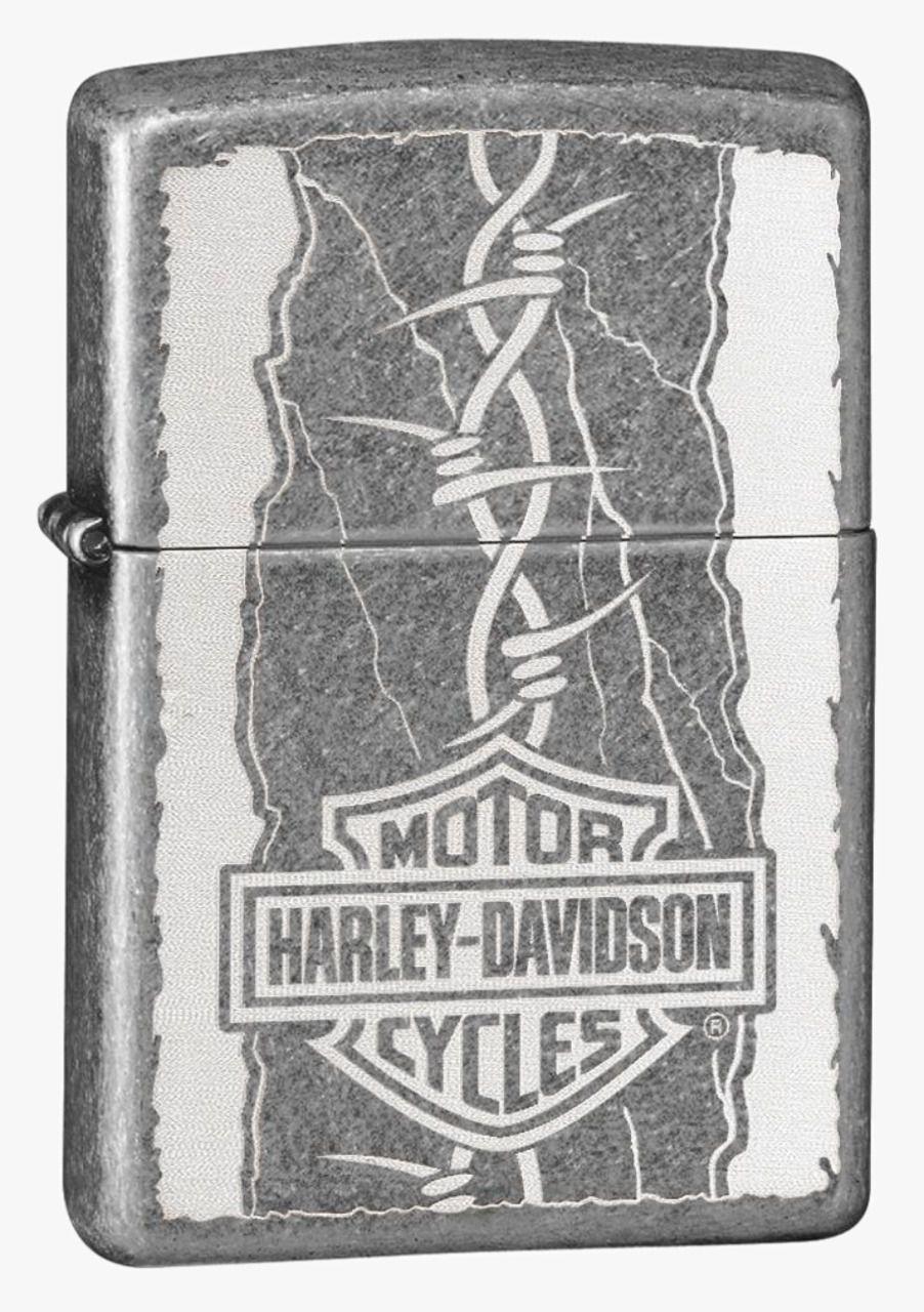 Isqueiro Zippo Harley Davidson Classic Prata