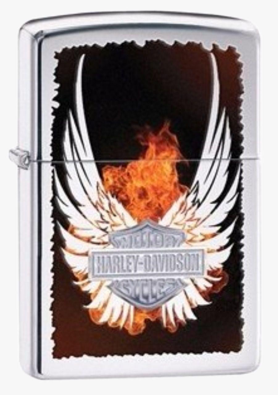Isqueiro Zippo Harley Davidson Shield Wings