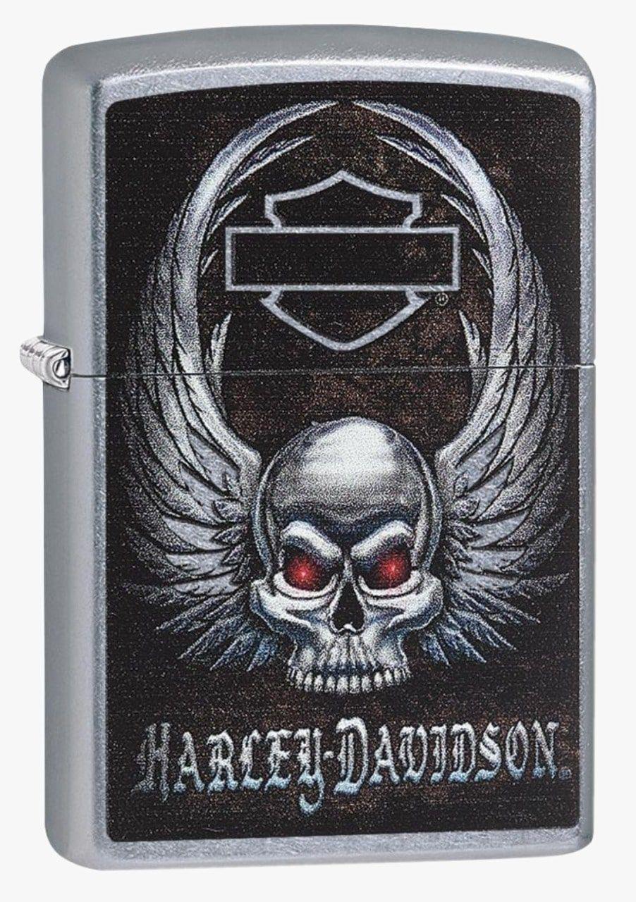 Isqueiro Zippo Harley Davidson Wing Skull