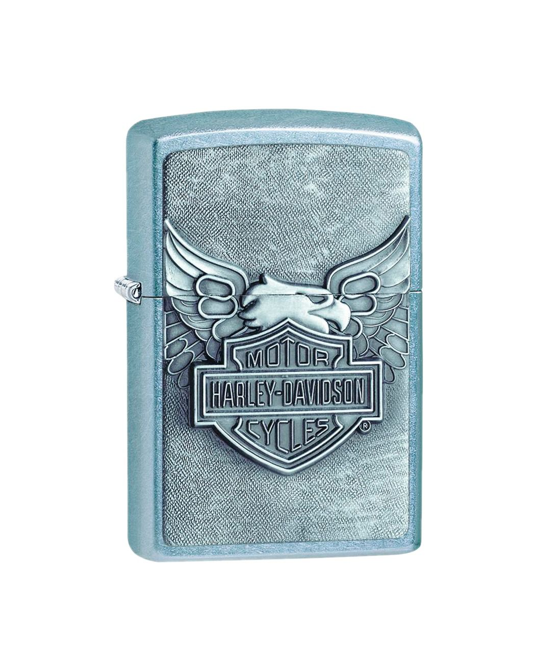 Isqueiro Zippo HD Iron Eagle Brushed