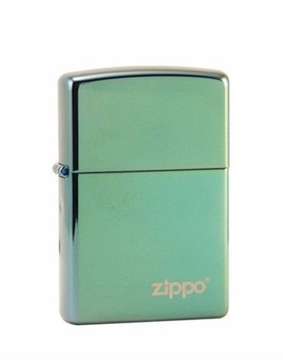 Isqueiro Zippo High Polish Green Logo