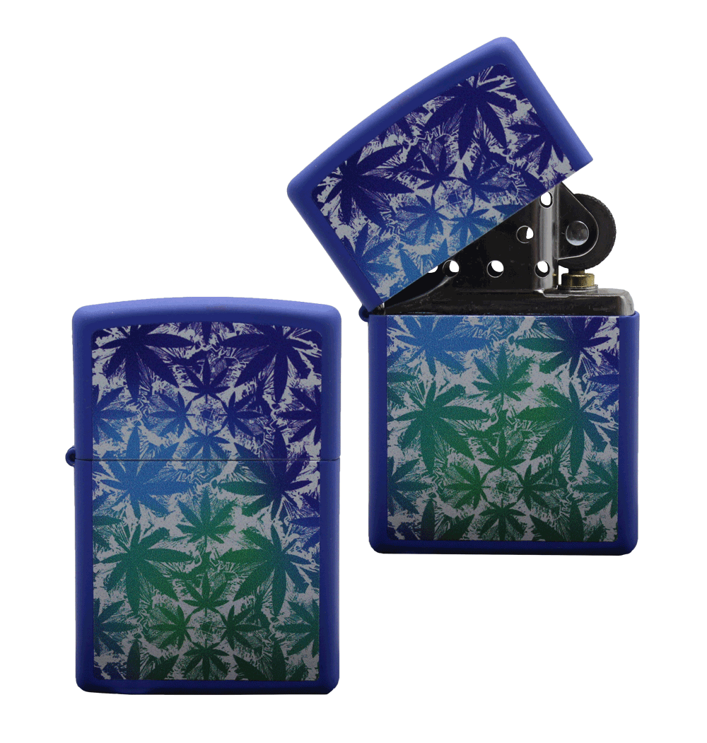 ISQUEIRO ZIPPO LEAVES ALL OVER