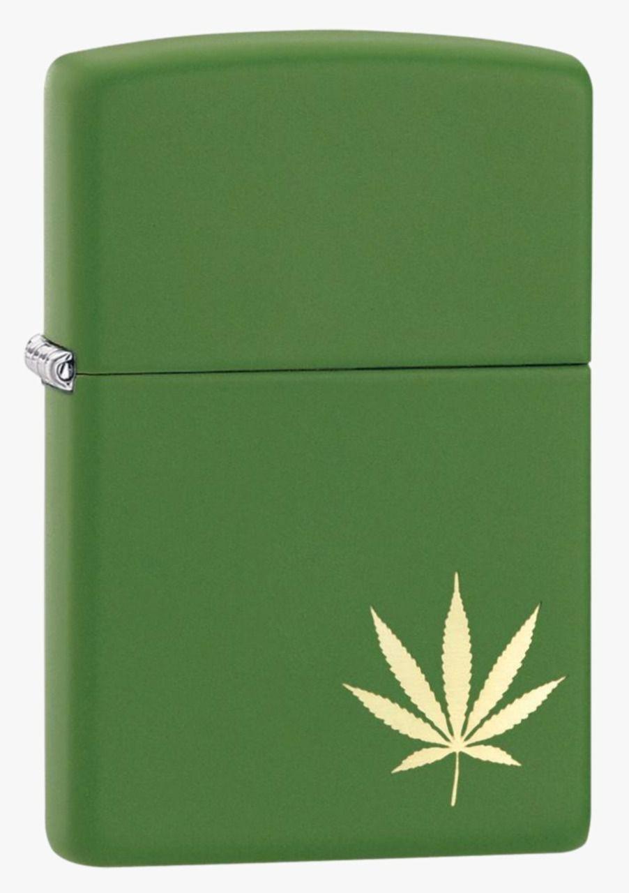 Isqueiro Zippo Marijuana Green