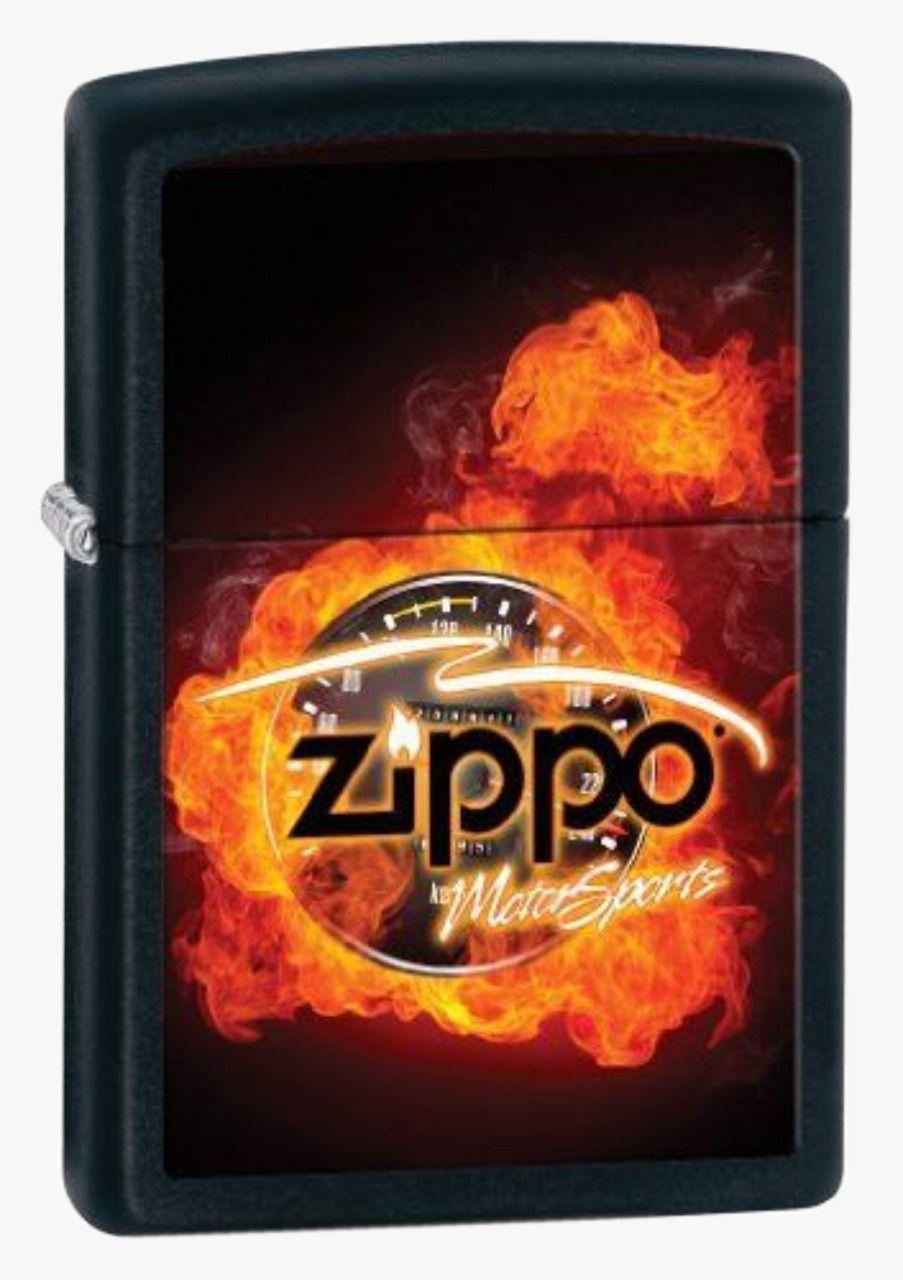 Isqueiro Zippo Motor Sports Black Matte