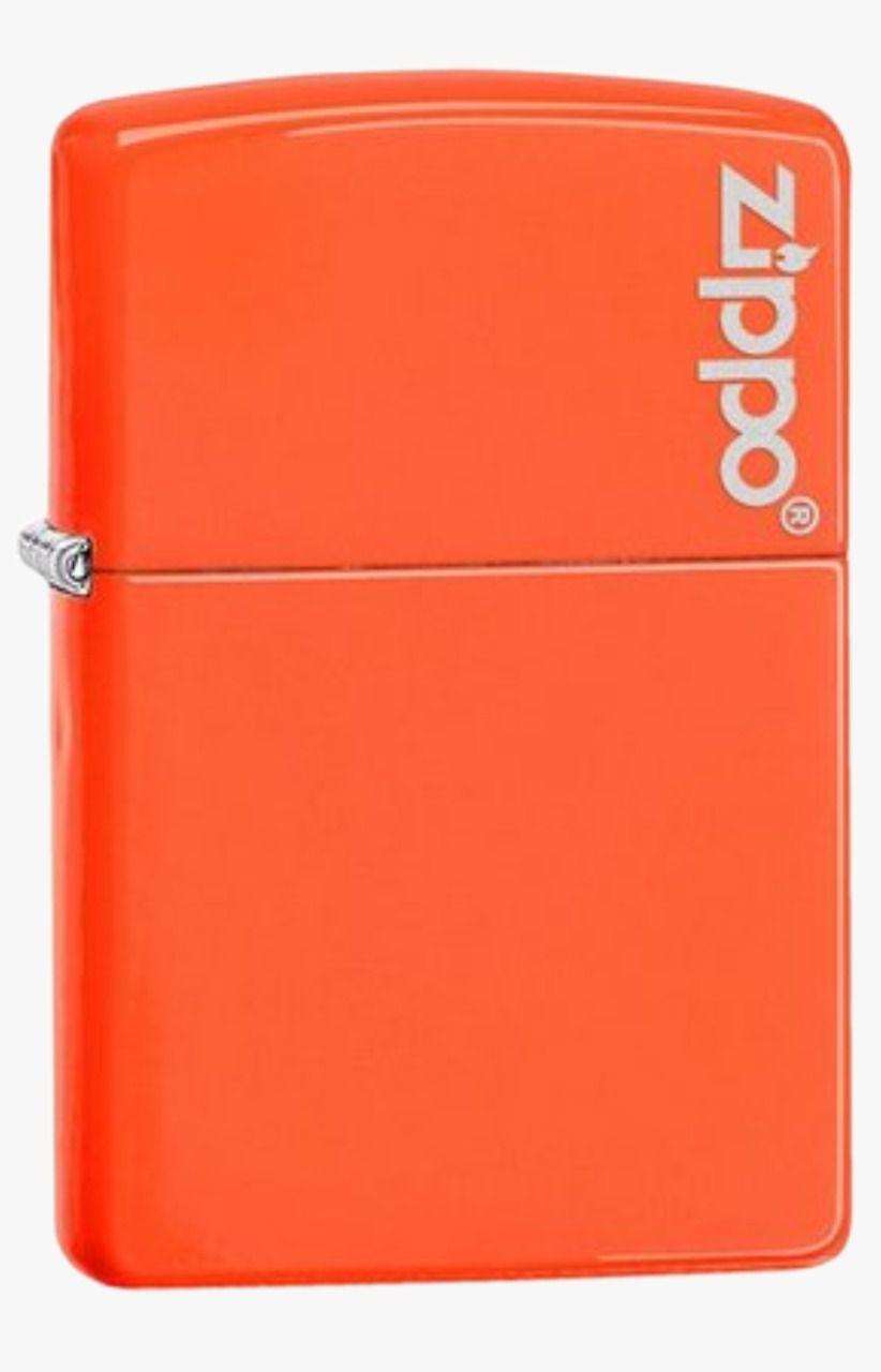 Isqueiro Zippo Neon Orange