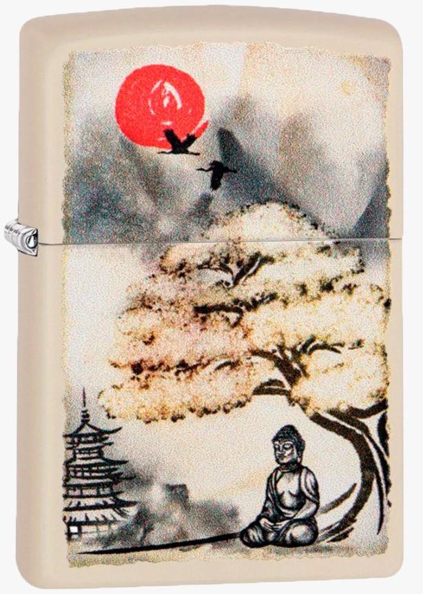 Isqueiro Zippo Pogoda Bonsai Buddha