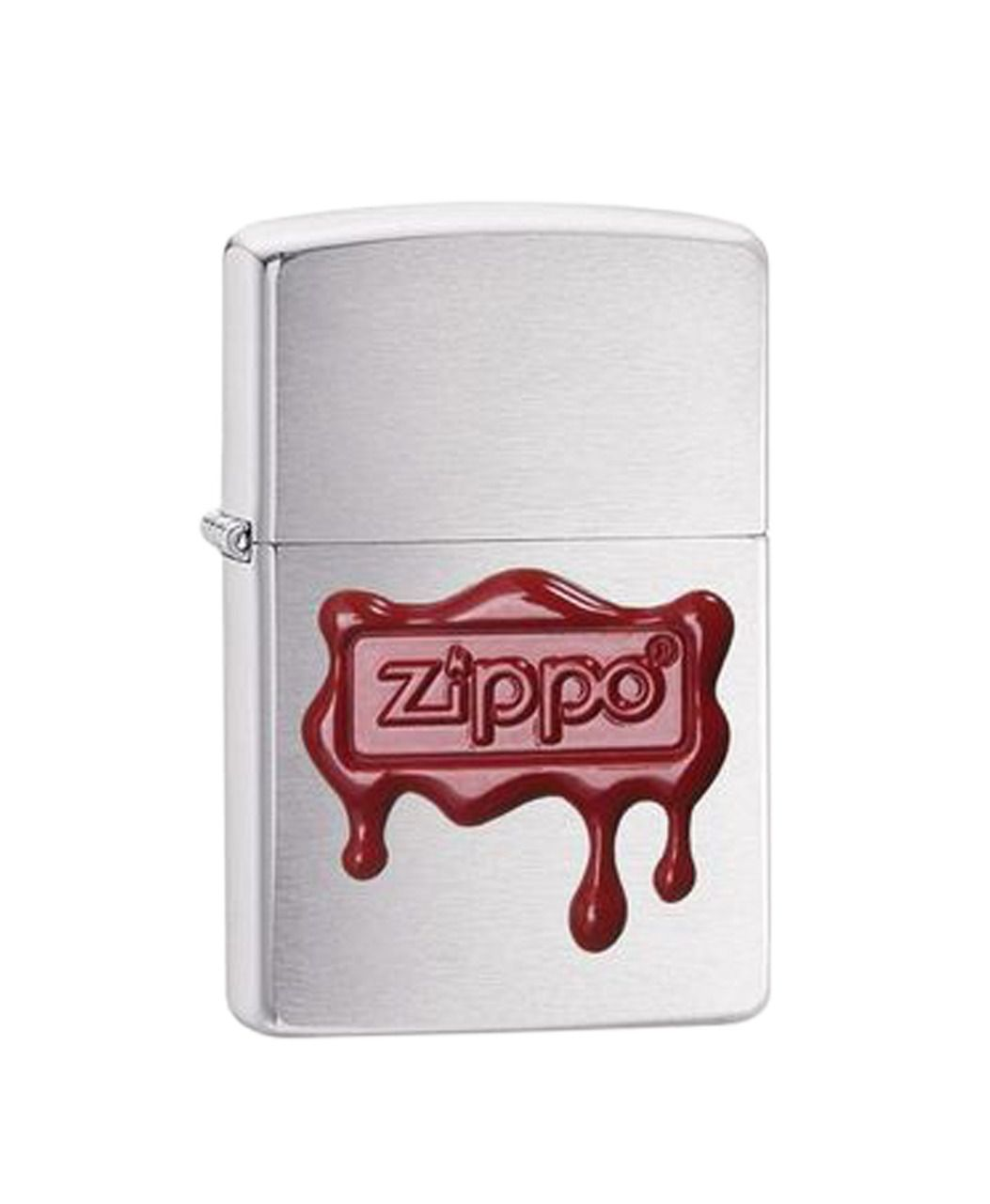 Isqueiro Zippo Red Wax Seal Brushed
