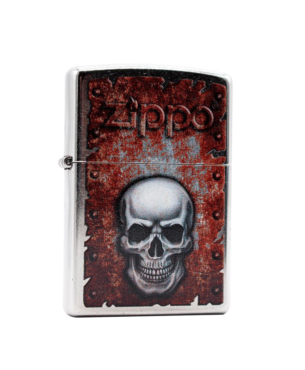 Isqueiro Zippo Rusted Skull