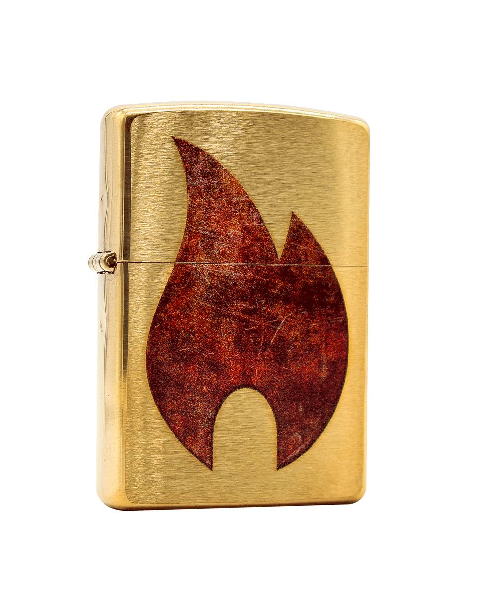 Isqueiro Zippo Rusty Flame