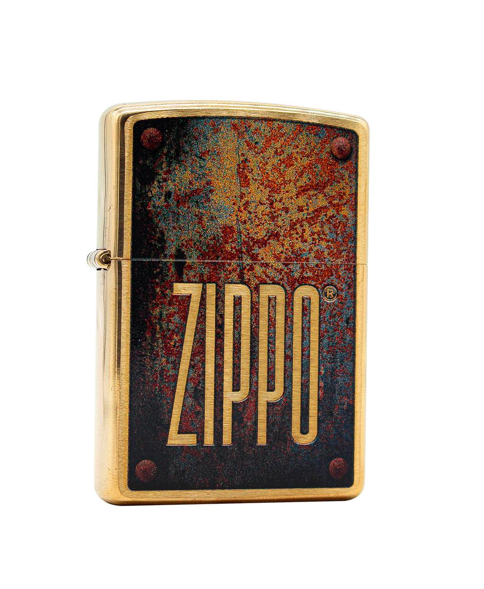 Isqueiro Zippo Rusty Plate