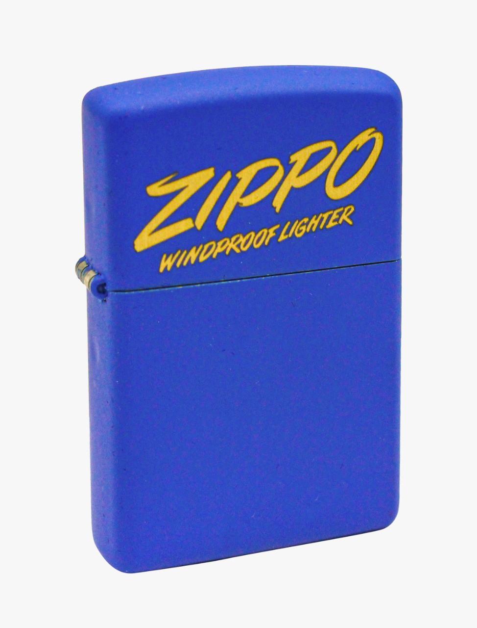 Isqueiro Zippo Script Design