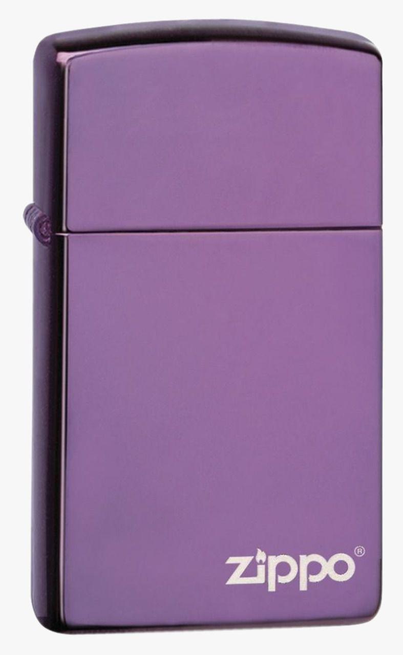 Isqueiro Zippo Slim High Polish Purple Lo