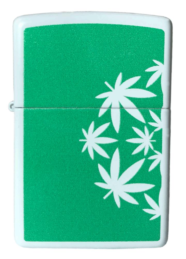 Isqueiro Zippo Weed Leaves
