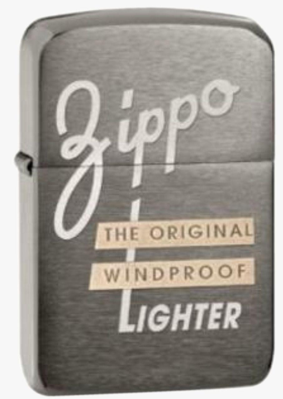 Isqueiro Zippo Windproof Black