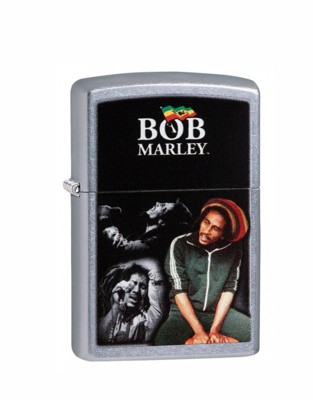 Isqueiro Zippo Classic Bob Marley Street