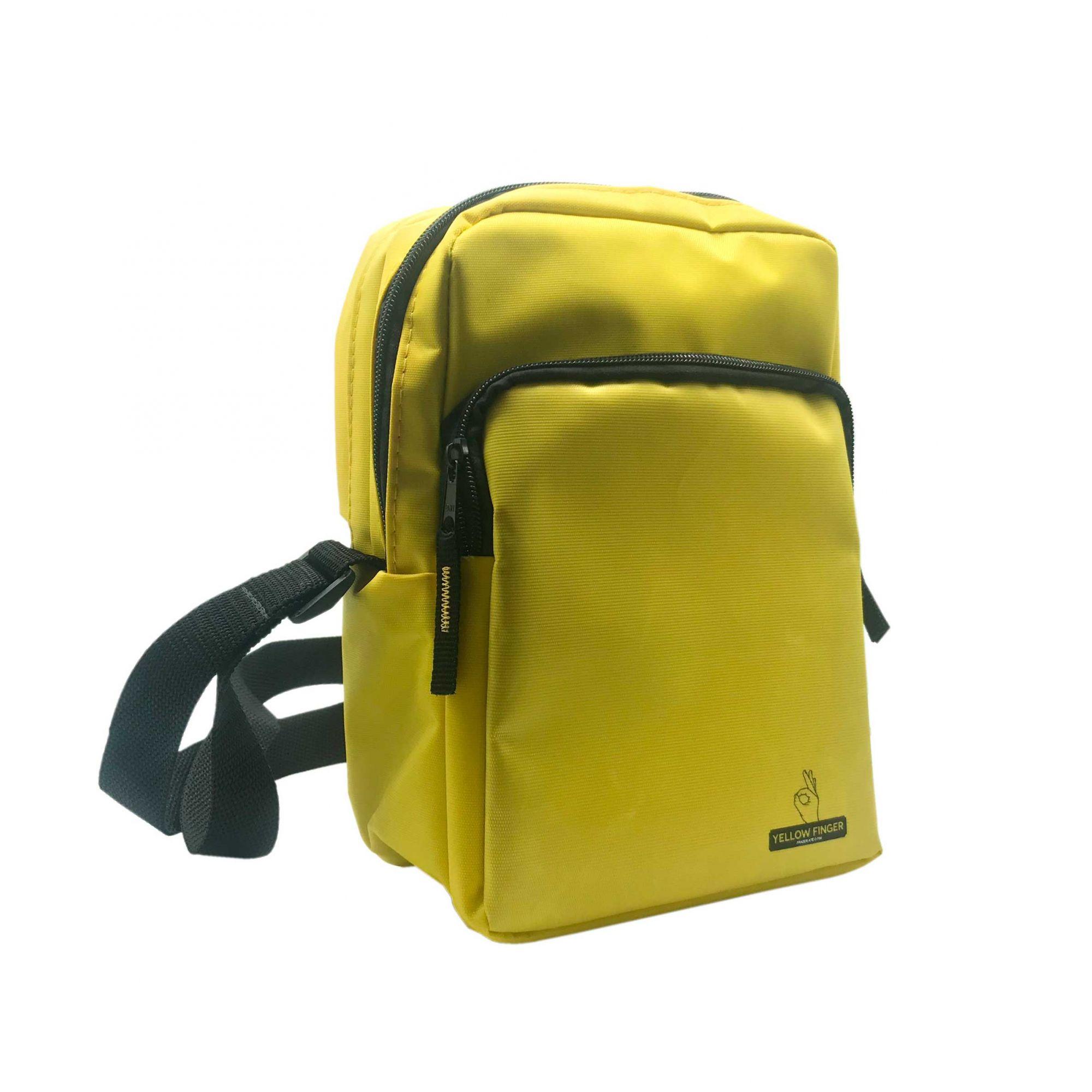 Shoulder Bag Yellow Finger Secret - Amarela