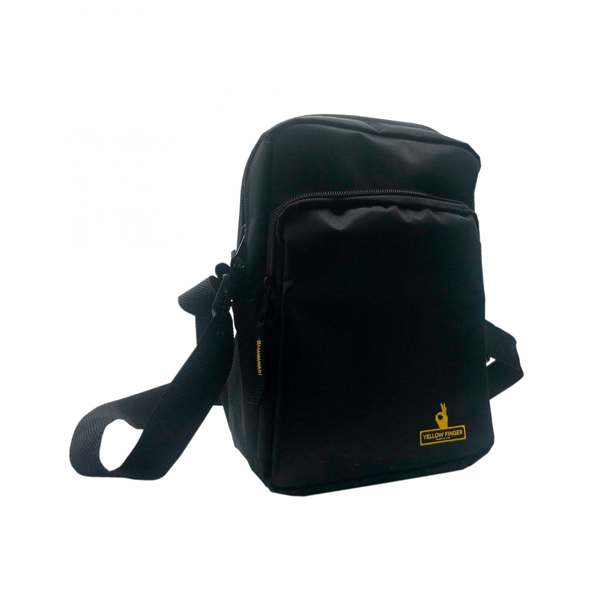 Shoulder Bag Yellow Finger Secret -  Preta