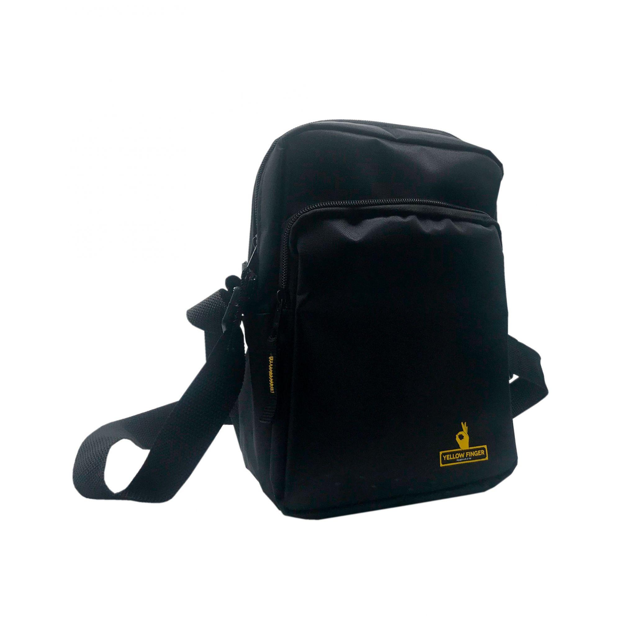 Shoulder Bag Yellow Finger Secret -  Preta