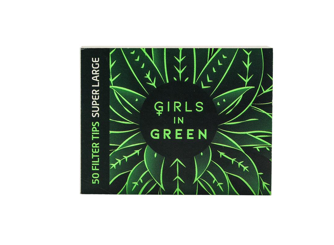 Piteira Bem Bolado Girls in Green - Reciclado