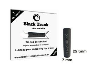 Piteira Black Trunk Murano Slim - 7x25 mm