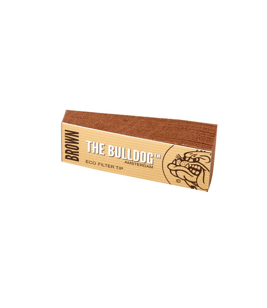 PITEIRA ECO FILTER  THE BULLDOG BROWN TIP (CX. C/ 50)