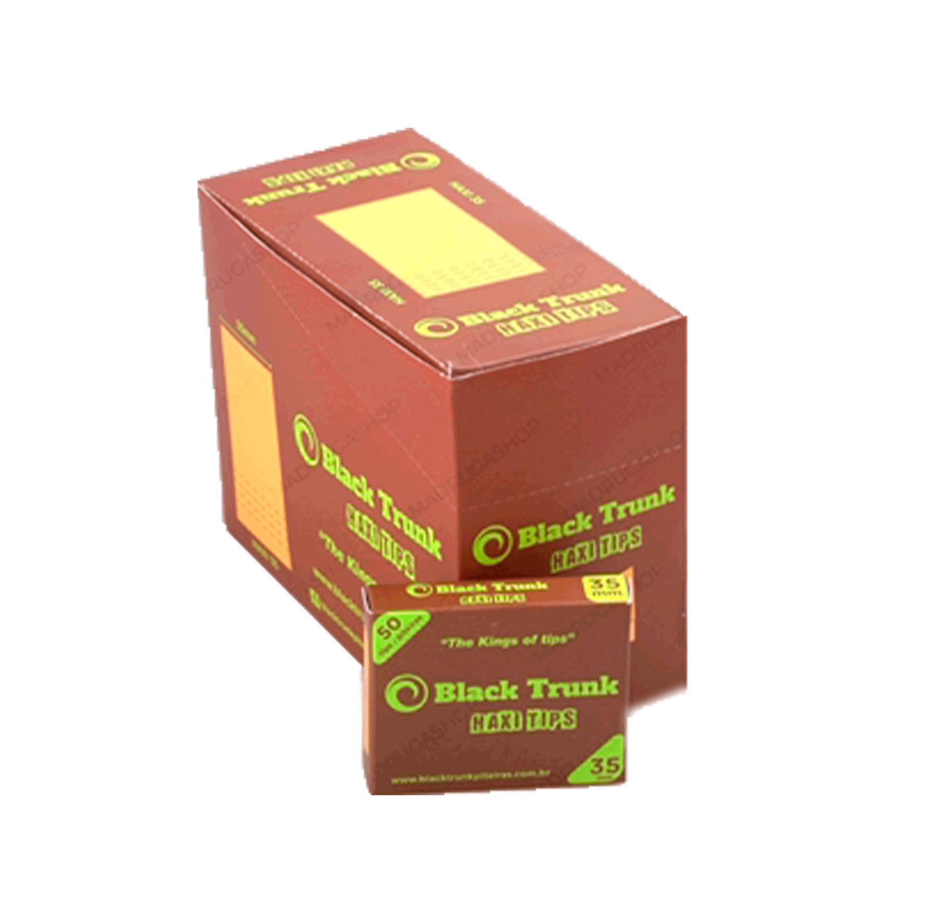 PITEIRA PAPEL BLACK TRUNK HAXI 35MM (UN.)