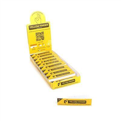 Piteira Yellow finger Original - Caixa com 20