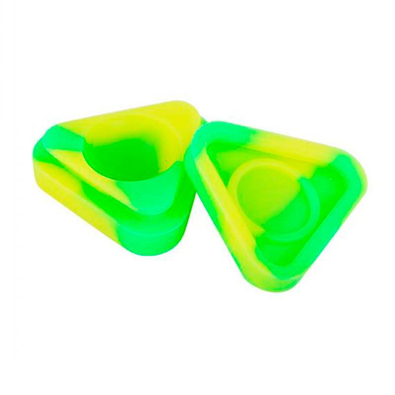 Reservatório de Silicone Triangle Colorido - 6 ml