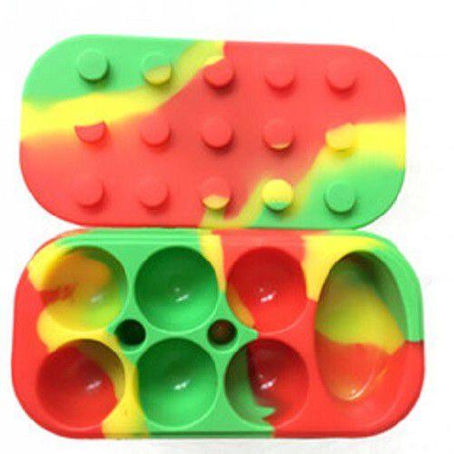 Reservatório Lego Colorido com 7 Slots - 34 ml
