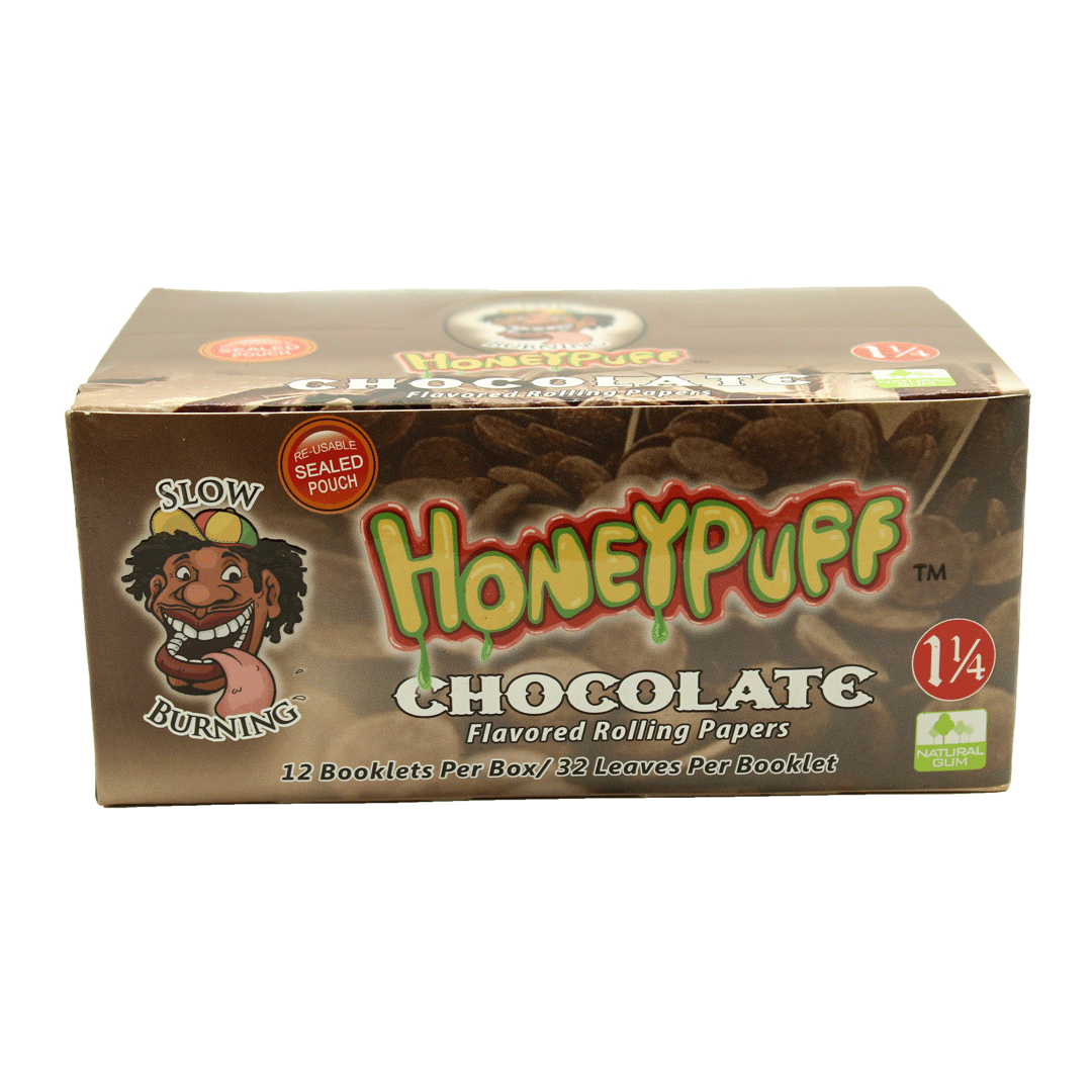 Seda Aromatizada Honeypuff chocolate 1-1/4 cx