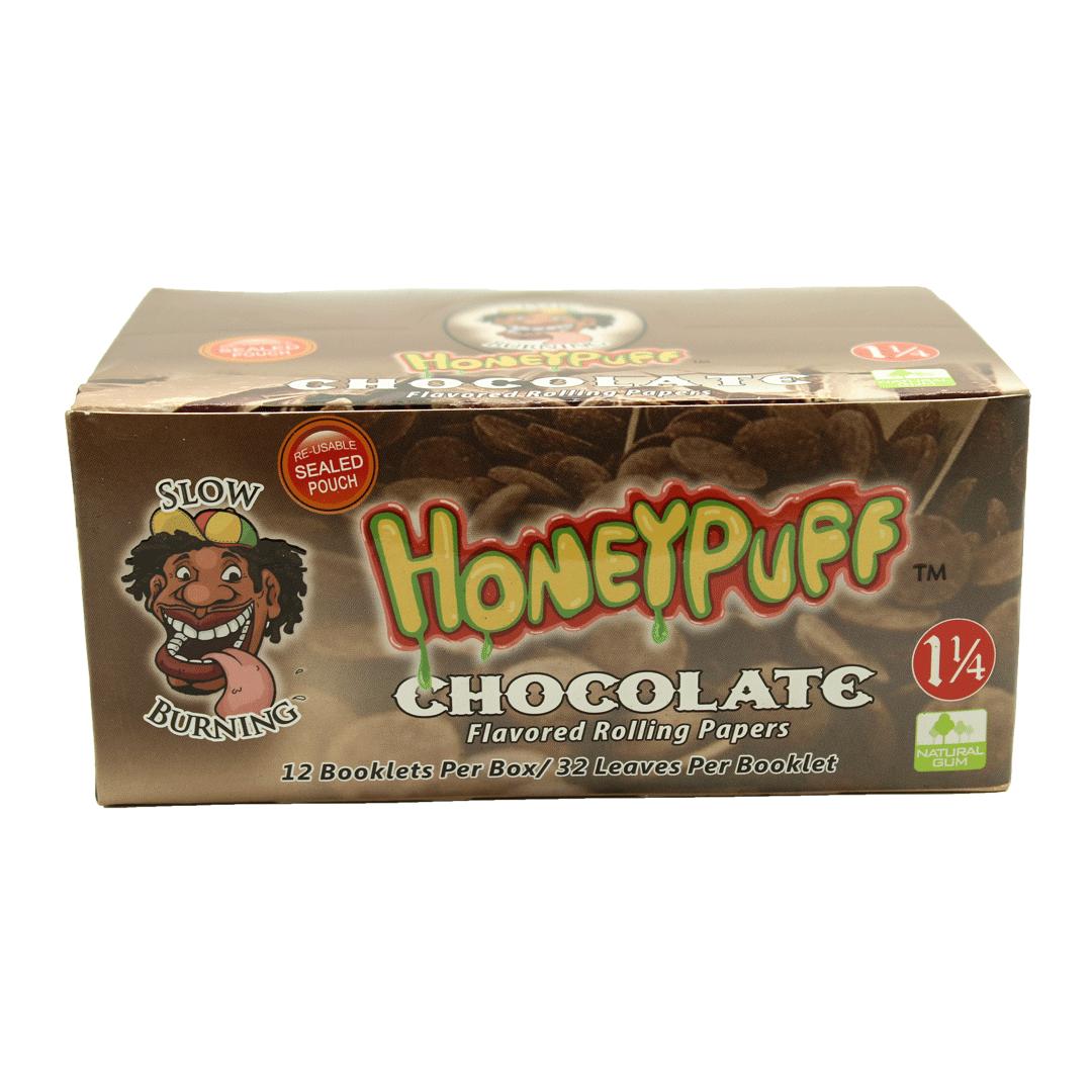 Seda Aromatizada Honeypuff chocolate 1-1/4 cx