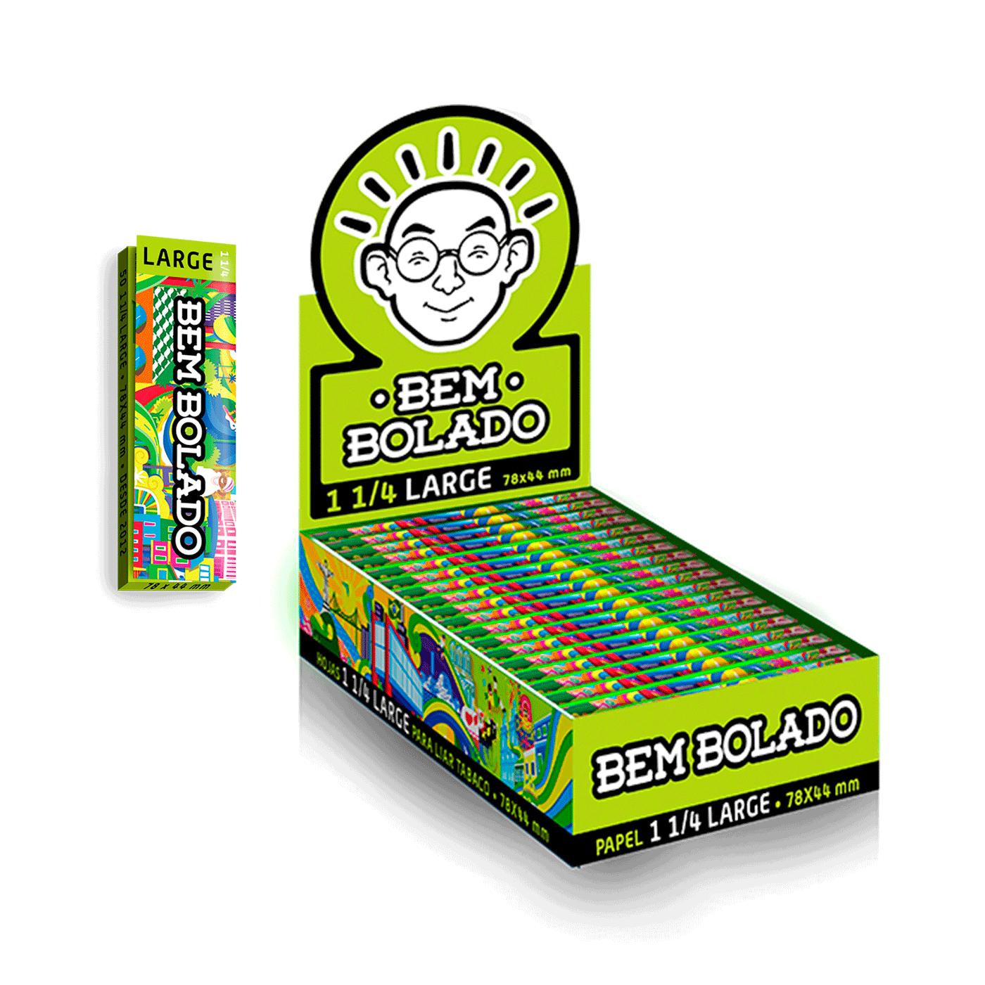SEDA BEM BOLADO POP 1-1/4 LARGE C/25 LIVROS (Un.)