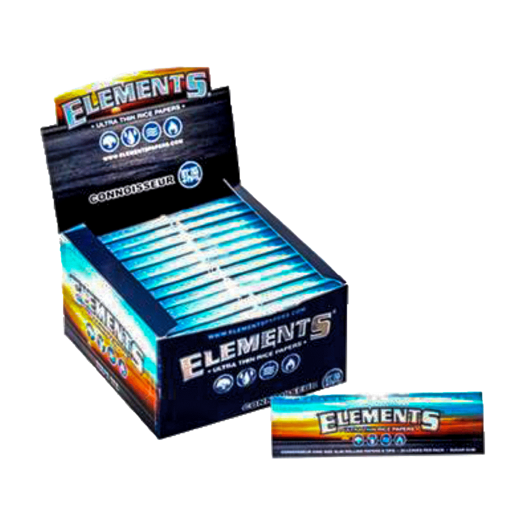 Seda Elements Connoisseur KSS + Piteiras - Caixa com 24