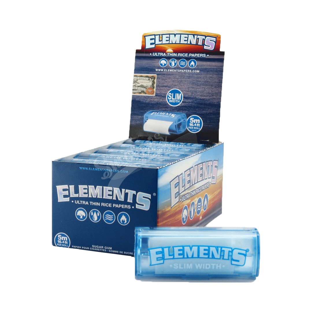Seda Elements Roll King Size Slim - Caixa com 24