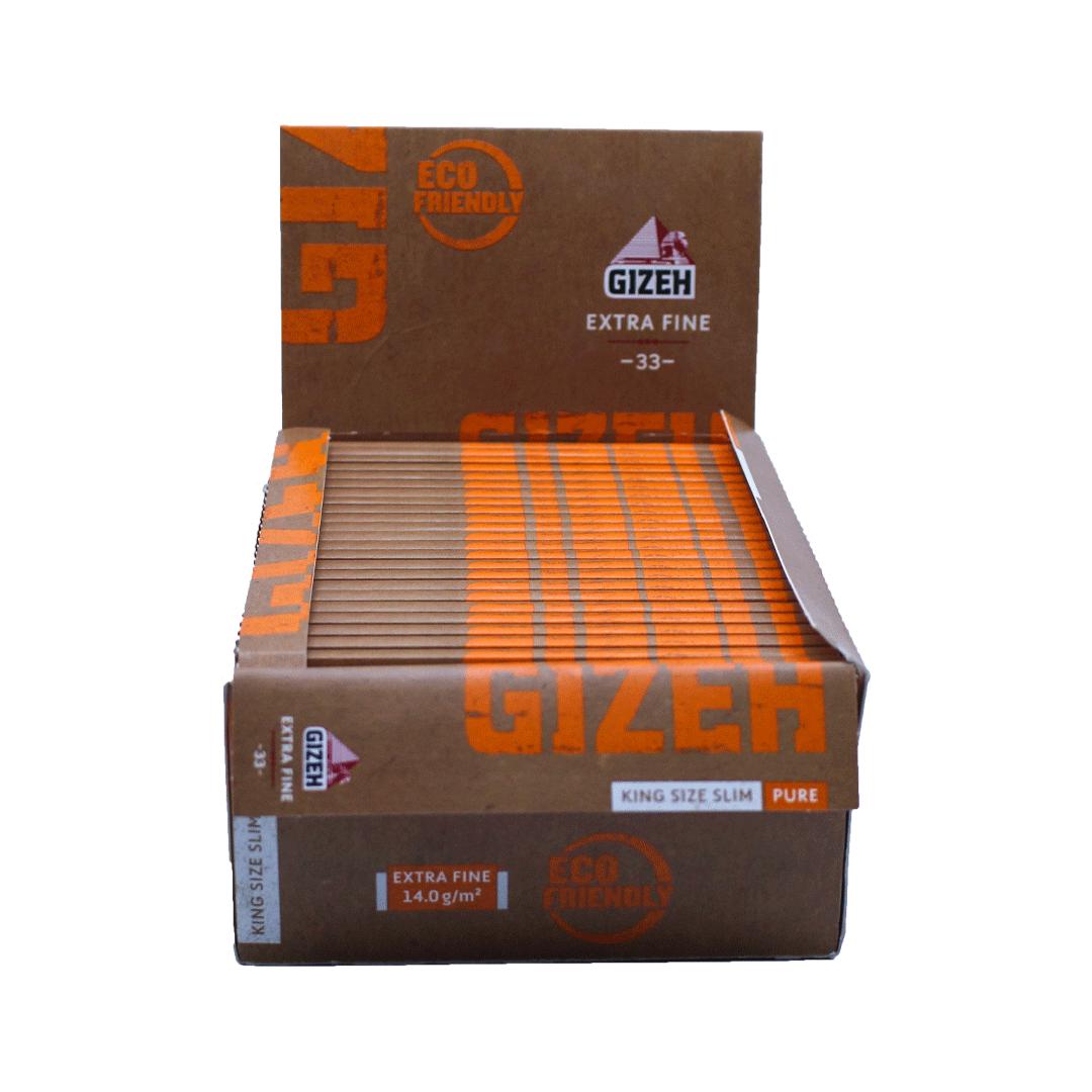 Seda Gizeh Pure Extra Fine - Caixa com 50