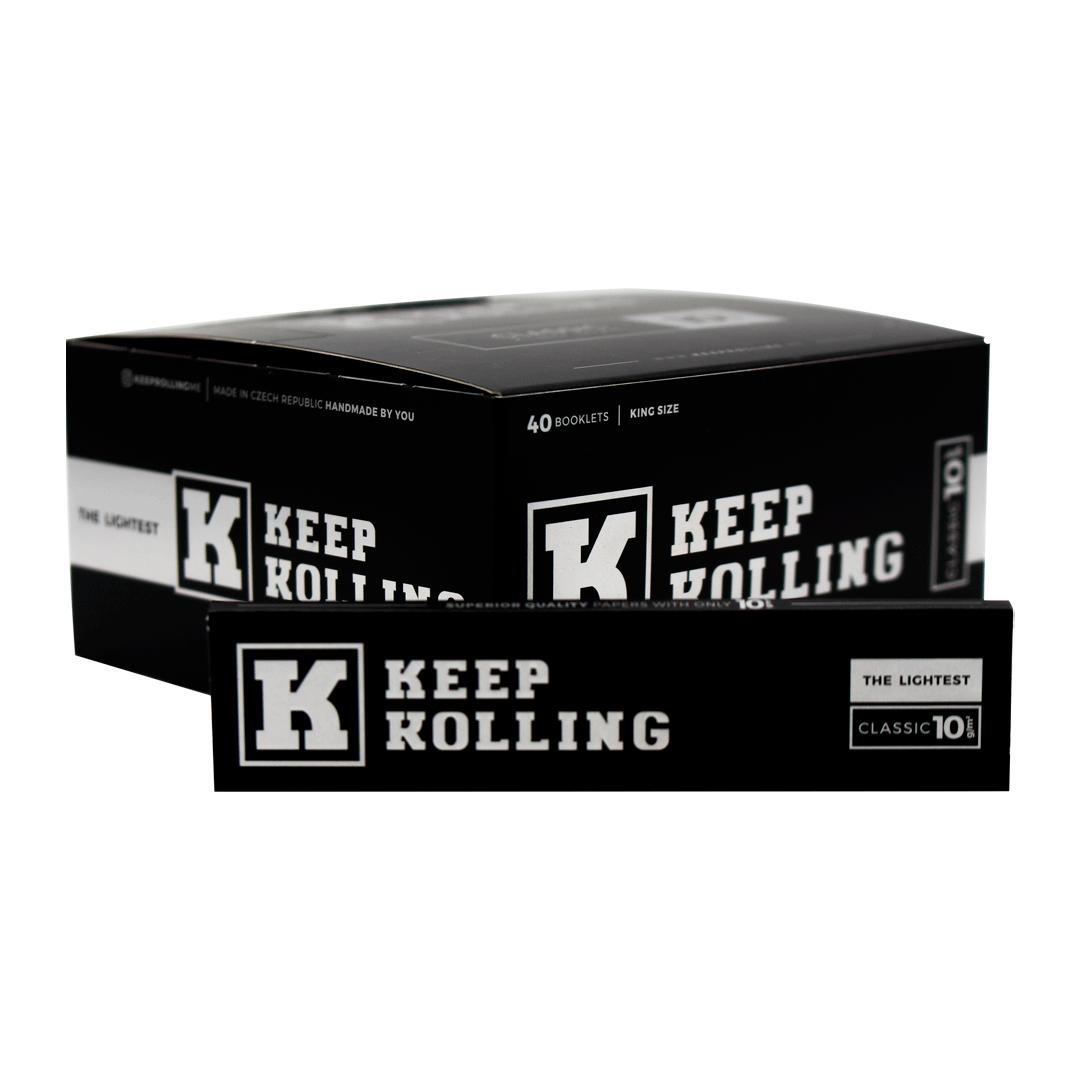 SEDA KEEP ROLLING CLASSIC KING SIZE C/33 FOLHAS