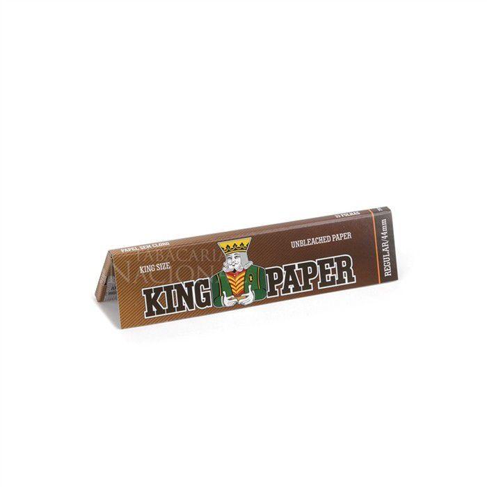Seda King Paper Unbleached King Size - Caixa com 20