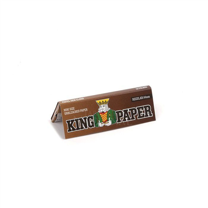 Seda King Paper Unbleached Mini Size - Caixa com 20