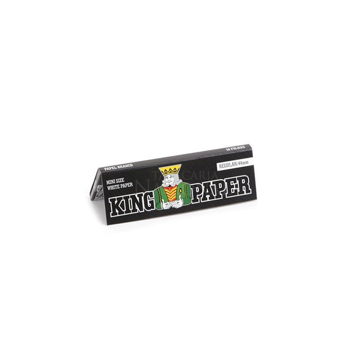 Seda King Paper White Mini Size - Caixa com 20