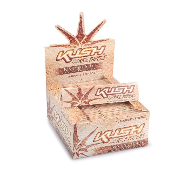 Seda Kush Rice King Size Caixa com 50
