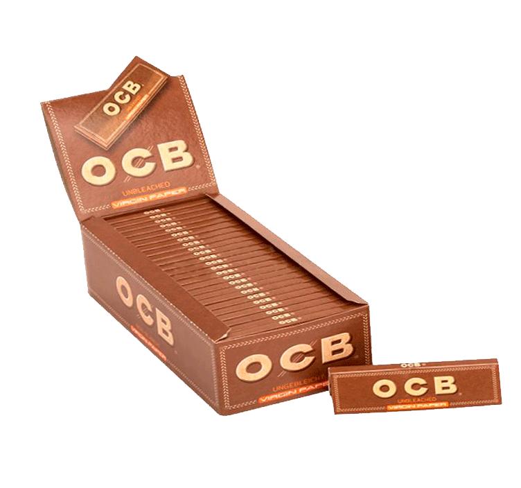 Seda OCB Brown Mini Size - Caixa com 25
