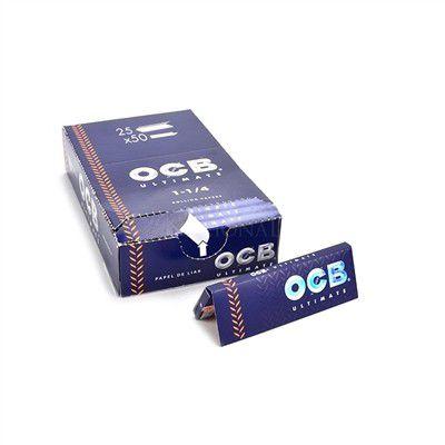 Seda OCB Ultimate 1 e 1/4 - Caixa com 25