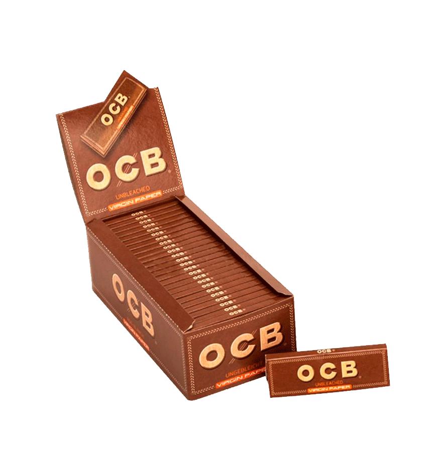 Seda OCB Unbleached Premium - Caixa com 50